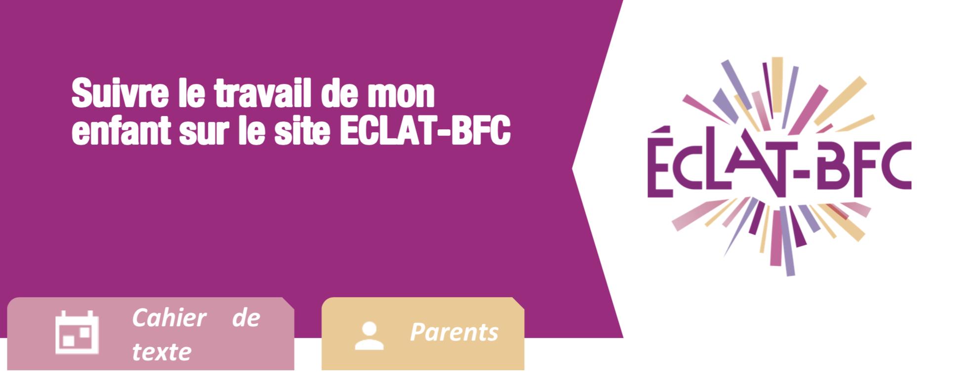 Illustration de la fiche suivre le travail de mon enfant sur le site ECLAT-BFC
